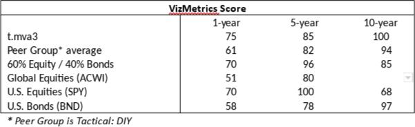 VizMetrics Score