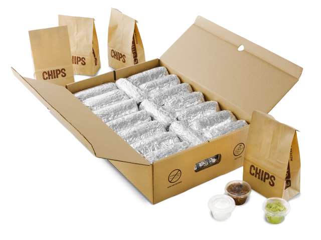 Chipotle Burritos by the box