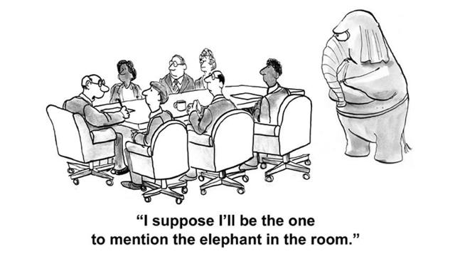 Image result for the elephant in the room